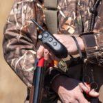 RAPT Transmitter on hand loading shotgun